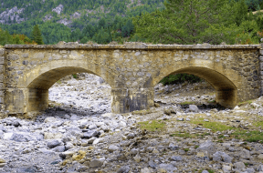 Old Rustic Bridge