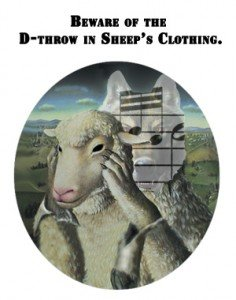 D throw in sheeps clothing