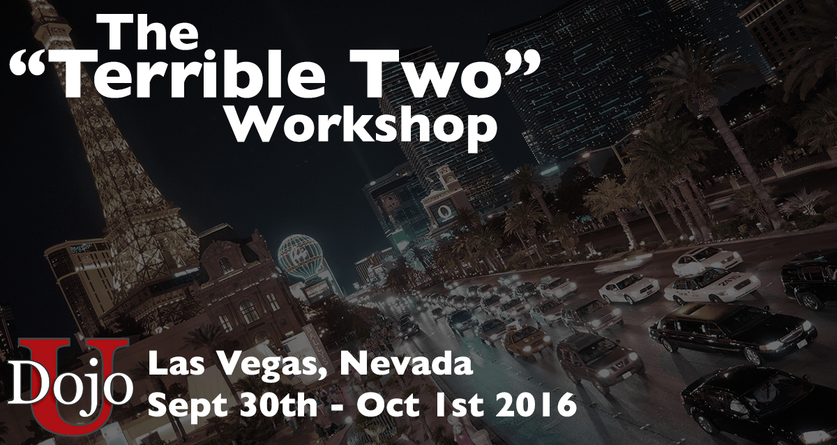 Join Dojo U in Las Vegas! Sept 30th - Oct 1st 2016