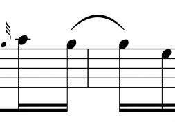 Tied Note Rhythm
