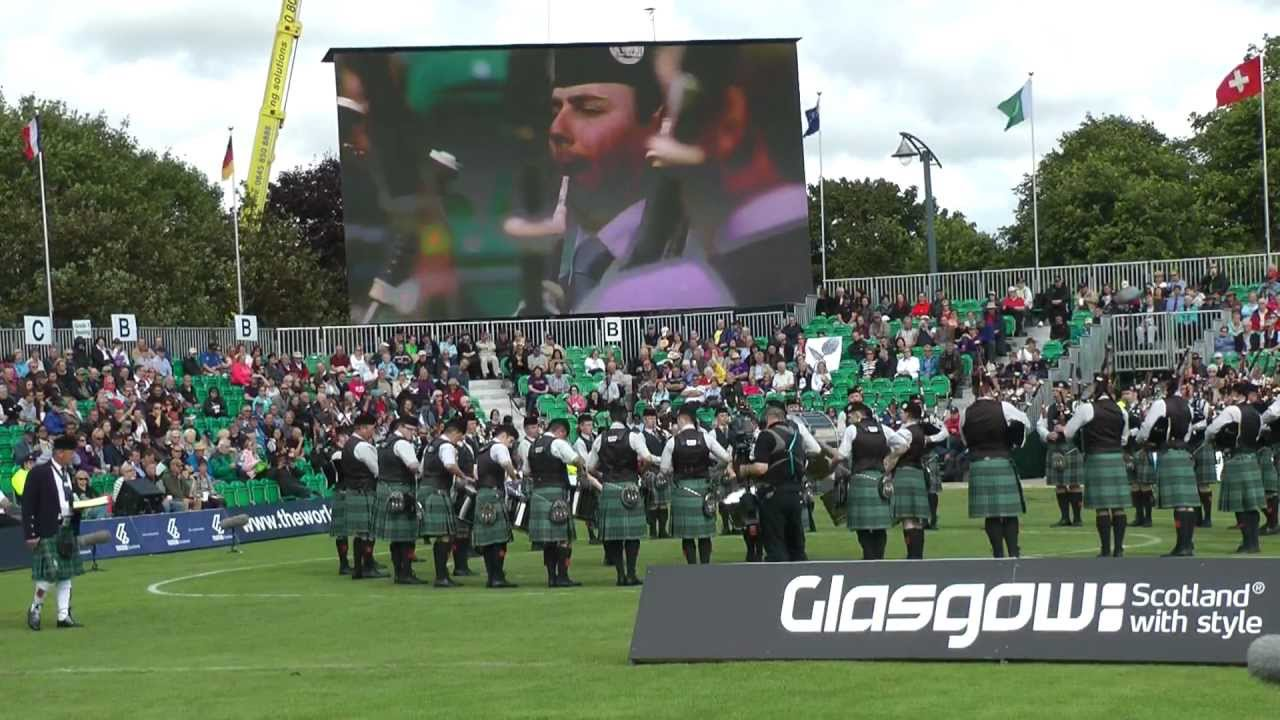 RSPBA Announces Band Draws for the World Pipe Band Championships