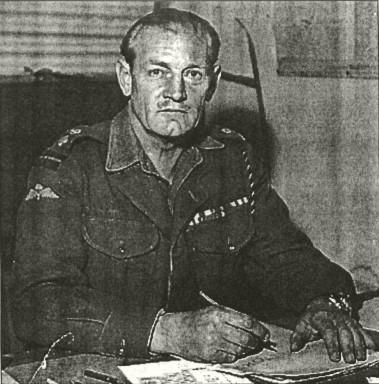 Jack Churchill at Desk
