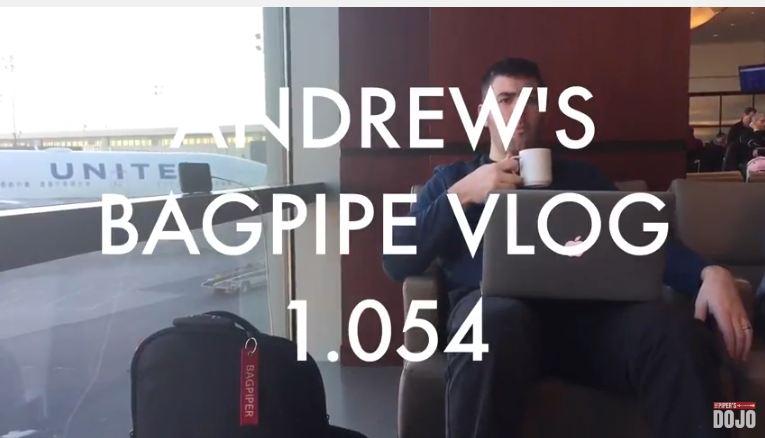 Andrews Bagpipe Vlog