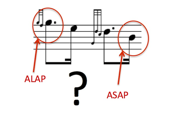 """""""What Is ALAP? What Is ASAP?"""""""
