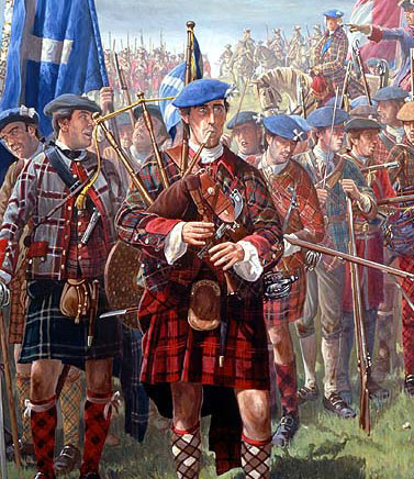 Bagpipes - An Instrument of War?