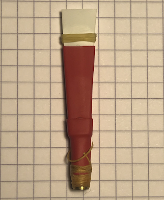 Testing Methods to Silence A Practice Chanter Reed