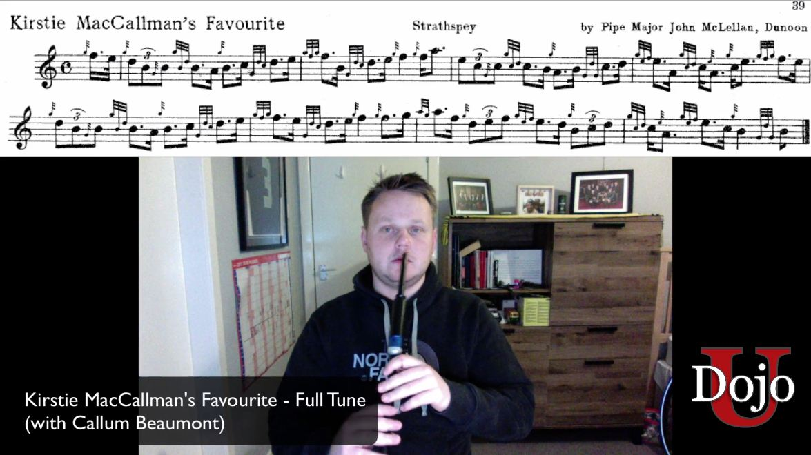 Kirstie MacCallman's Favourite - Full Tune