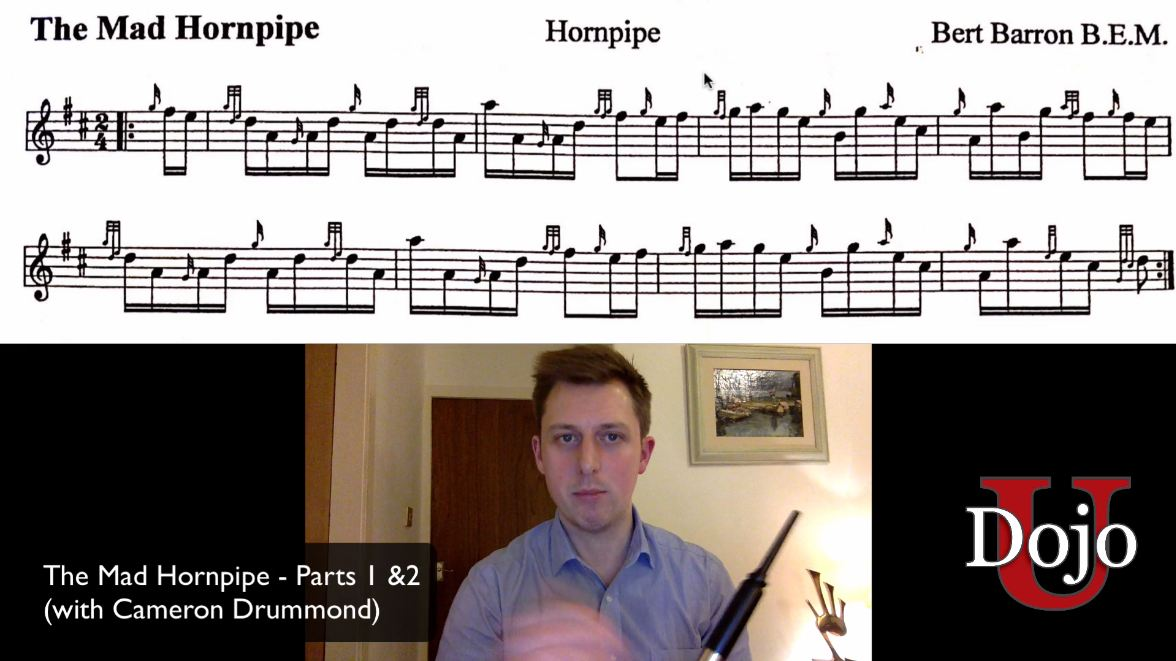 The Mad Hornpipe - Parts 1 & 2