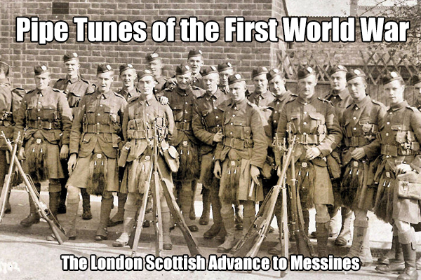 The London Scottish Advance to Messines