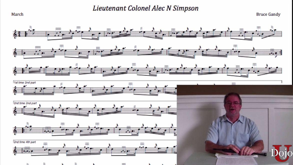 Lt Col Alec Simpson - Part 1