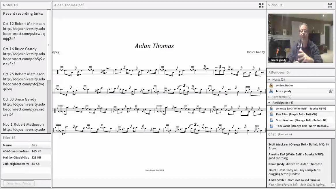 Aiden Thomas - Live Class